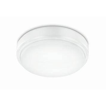 Prolight plafonnière met geïntegreerde led 12 W 850 Lm koud wit IP54 21 cm wit