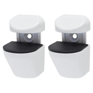 Console Duraline Clip blanc alpin 2 pièces