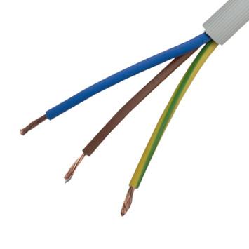 Câble Profile VTMB gris 3G2,5 mm² au mètre