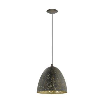 Eglo hanglamp Safi bruin goud