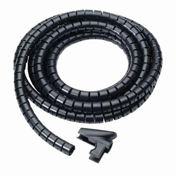 Kabelslang 25 mm 2m zwart