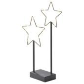 Étoiles 30 microled blanc chaleureux