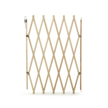 Barrière de porte/d'escalier Sam bois 60-108 cm