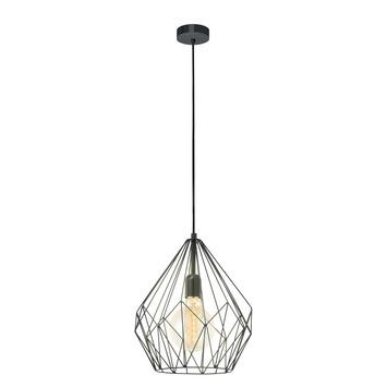 Eglo hanglamp Carlton zwart