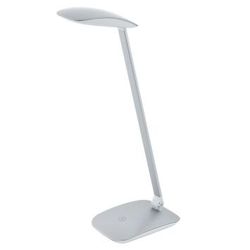 Eglo bureaulamp Cajero zilver