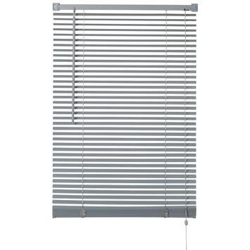 OK horizontale jaloezie kunststof 25 mm grijs 140x175 cm