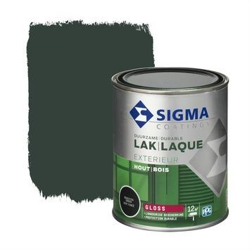 Sigma lak exterieur gloss 750 ml grachtengroen
