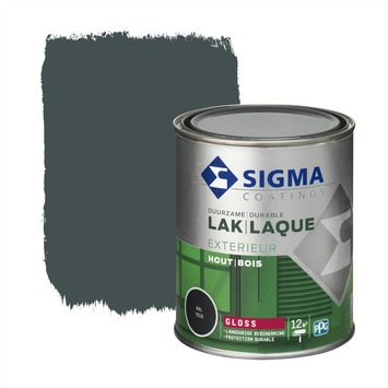 Sigma laque extérieure gloss 750 ml anthracite