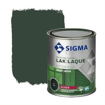Sigma lak exterieur gloss 750 ml dennengroen