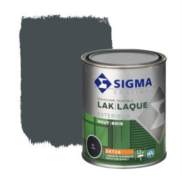 Sigma lak exterieur sat 750 ml antracietgrijs