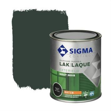 Sigma laque extérieure satin 750 ml vert canal