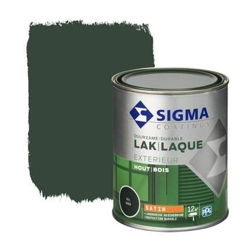 Sigma lak exterieur sat 750 ml dennengroen