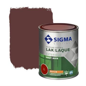 Sigma laque extérieure satin 750 ml rouge vin