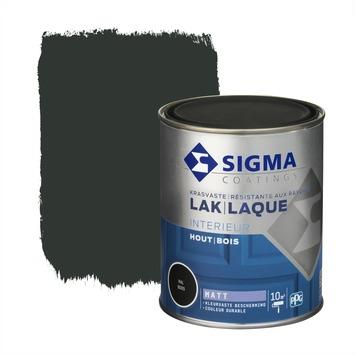 Sigma lak interieur mat 750 ml gitzwart