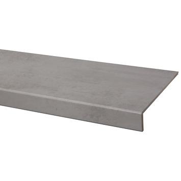 Marche en stratifié CanDo rénovation d'escalier 100x30 cm Béton gris clair