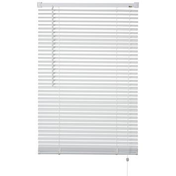 Store vénitien synthétique OK 25 mm 120x175 cm blanc
