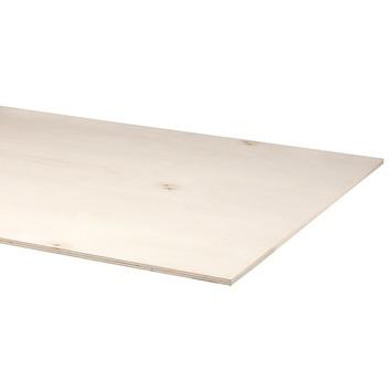 Multiplex plaat populier fsc 244x122 cm 15 mm