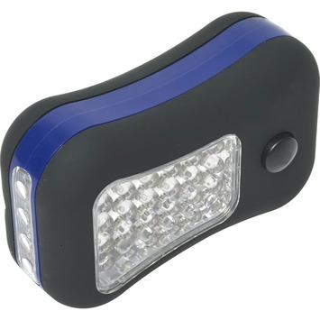 Lampe de poche 6x4 LED noir 3x AAA