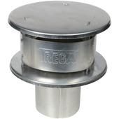 Burgerhout nelsonkap aluminium ø130 mm