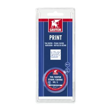 Griffon print tin/koper 0,7 mm 50 g