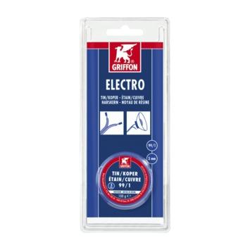 Griffon electro tin/koper 3 mm 100 g