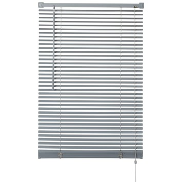 OK horizontale jaloezie kunststof 25 mm grijs 100x175 cm