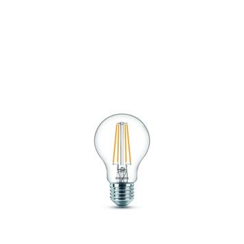 Philips LED filament peerlamp E27 806 lumen 7W=60 W helder