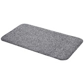 Voetmat Cotton Pro Dry  50 cm x 80 cm grijs