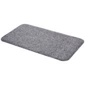 Voetmat Cotton Pro Dry  40 cm x 70 cm grijs