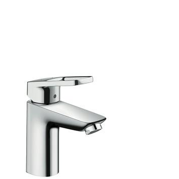 Mitigeur de lavabo Hansgrohe 100 avec bonde clic-clac Pop-up