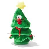 Lopende en zingende mini kerstboom