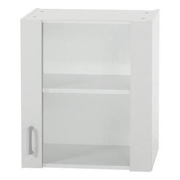 Optifit Klassik60 wandkast met 1 glasdeur 57,6x50x34,6 cm
