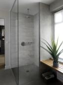 Lambris en PVC Attitude XL Grosfillex 8 mm 2,925 m² raboté gris