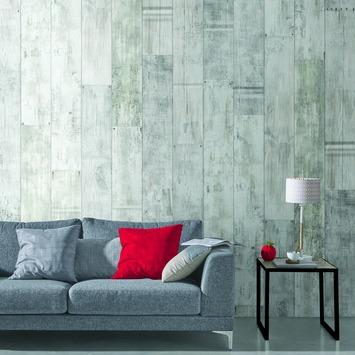 Grosfillex paneel Element 3D PVC wit rustiek grafiek 2,925 m²