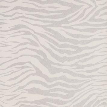 Vliesbehang Zebra zilver 20-124