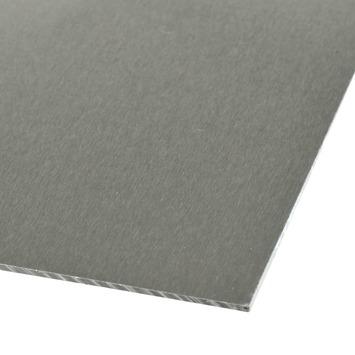 Plaat 1000x 500x0,5 mm aluminium