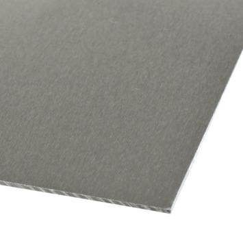 Plaat 1000x500x1 mm aluminium