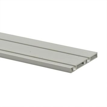 Essentials schuifdeurrail S10 260 cm kunststof wit