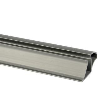 Essentials greepprofiel voor schuifdeur 260 cm aluminium