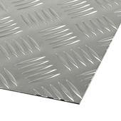 Plaque en aluminium 1,5 mm 100x50 cm
