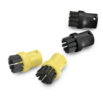 Set de brosses Kärcher noir et jaune 4 pièces