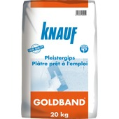 Plâtre Goldband Knauf 20 kg
