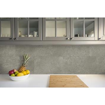 Grosfillex paneel GX Wall grijs slate afm. 30x60 cm 1,98 m², 11 stuks