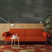 Lambris GX Wall Grosfillex anthracite foncé dim. 30x60 cm 1,98 m², 11 pièces