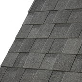 Shingle Cambridge Xpress 3,1 m² dual black noir 20 pièces