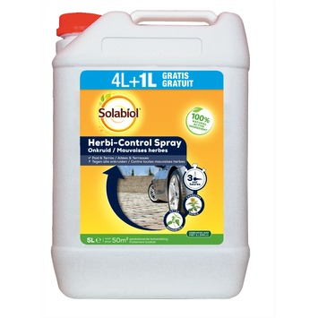 Spray Herbi-control Solabiol allées & terrasses 4+1 L