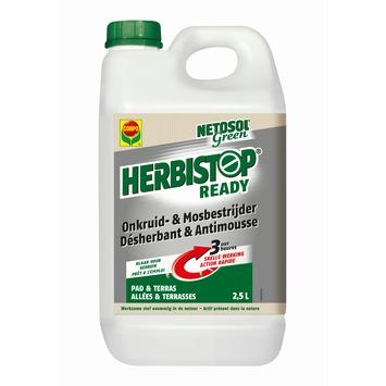 Désherbant Herbistop Compo Netosol Green allées & terrasses 2,5 L