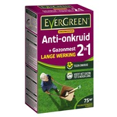 Evergreen anti-onkruid + gazonmest 75 m²