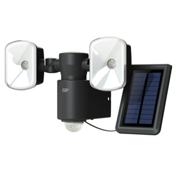 lampe solaire led pour l 39 ext rieur gp safeguard rf4 1 avec d tecteur de mouvement lampes. Black Bedroom Furniture Sets. Home Design Ideas