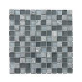 Wandtegel mozaïek 23x23 mm tuscany grijs 0,09 m²